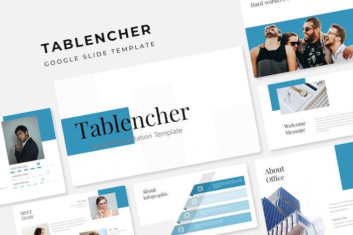 Thumbnail for Tablencher - Google Slide Template