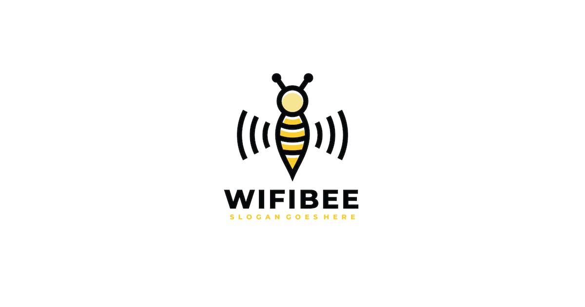 Download Wifi Bee Logo by 3ab2ou
