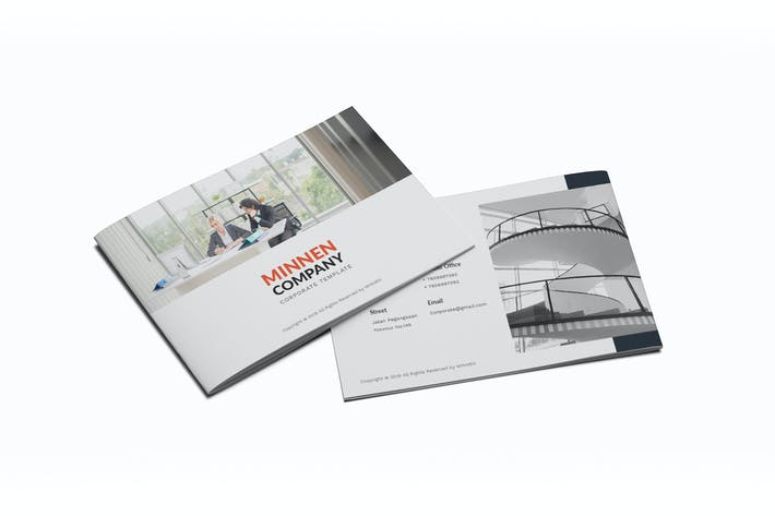 Thumbnail for Minnen Corporate A5 Brochure
