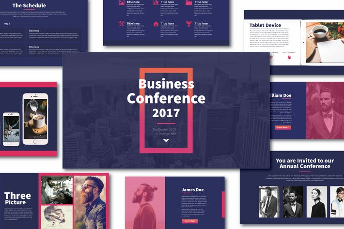 Blues Keynote template