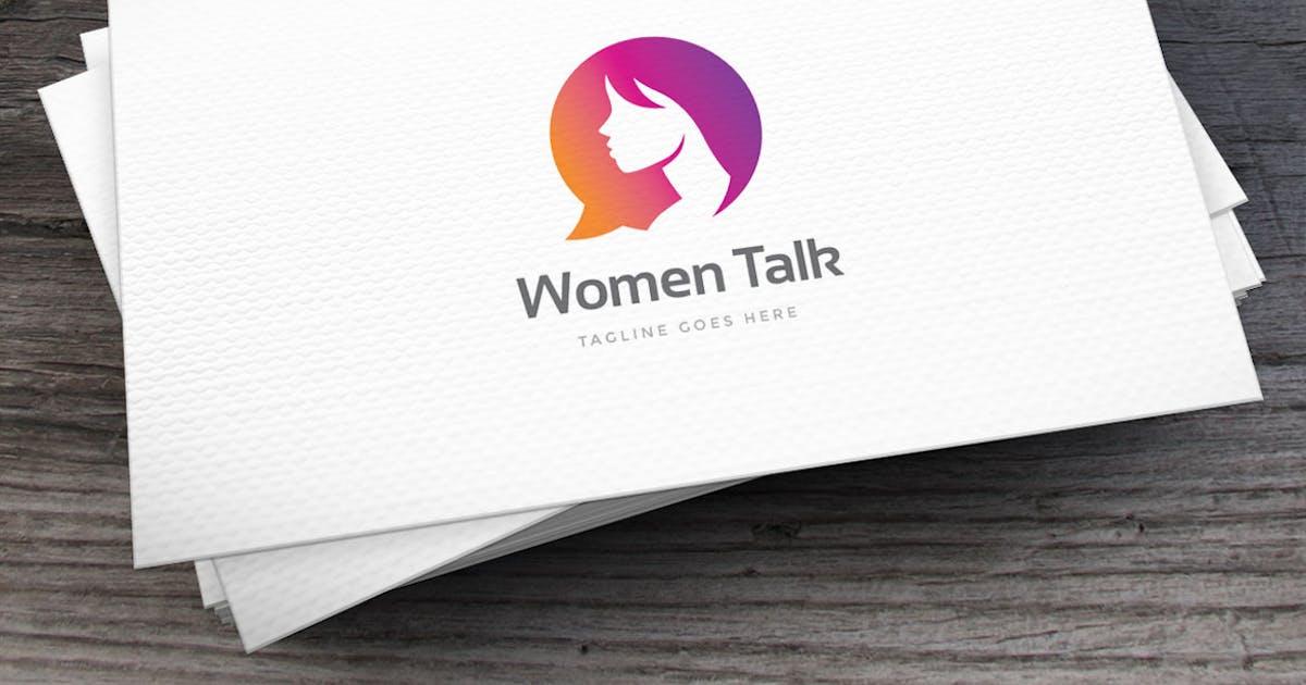 Download Women Talk Logo Template by empativo