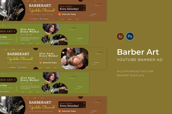 Barber Art Youtube Channel