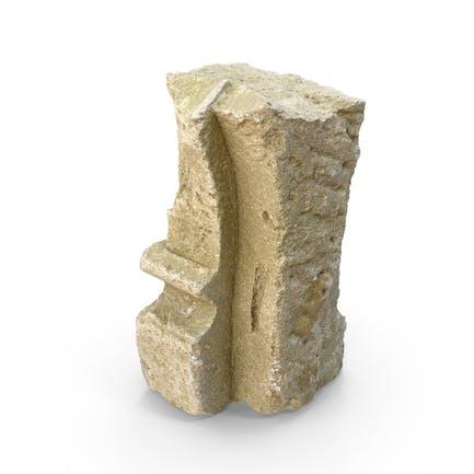 Broken Concrete Element