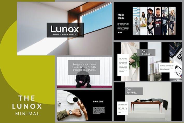 Thumbnail for Lunox Dark - Powerpoint