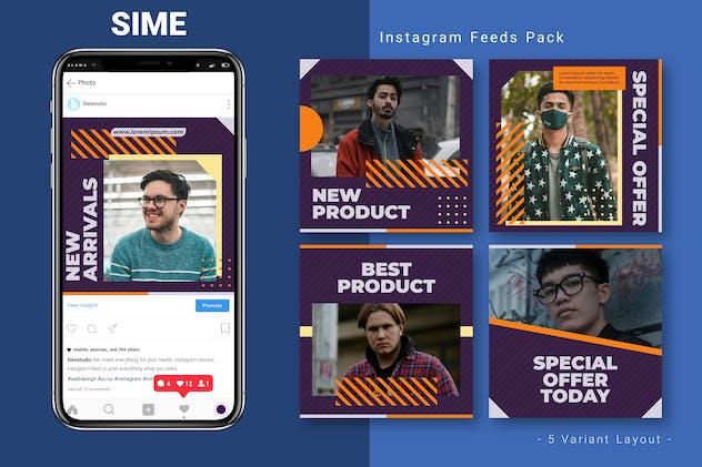 Sime - Instagram Feed Pack