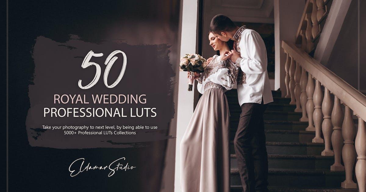 Download 50 Royal Wedding LUTs Pack by Eldamar_Studio