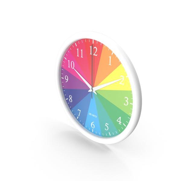 Радуга настенные часы