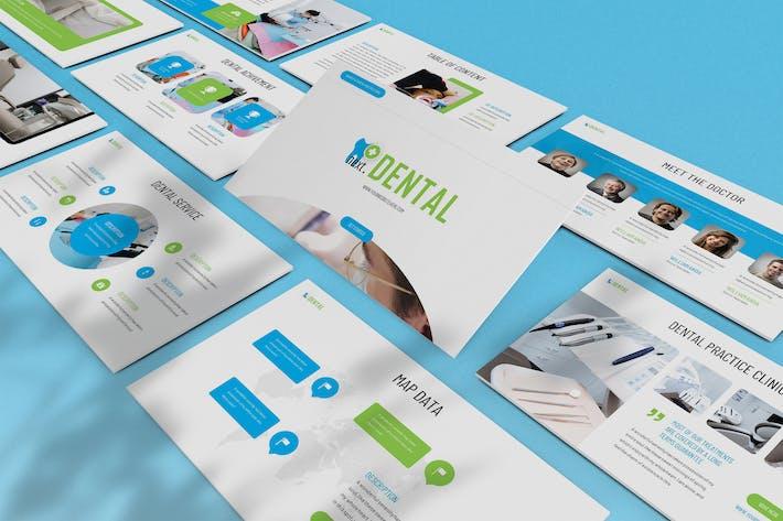 NextDental - Dentist Powerpoint Template