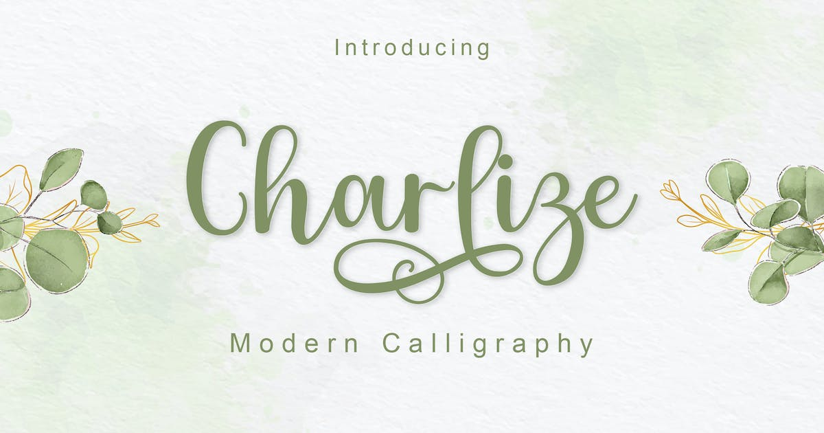 Download Charlize by amarlettering