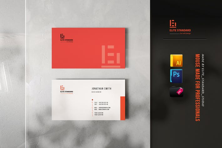 Thumbnail for Bold Business Card