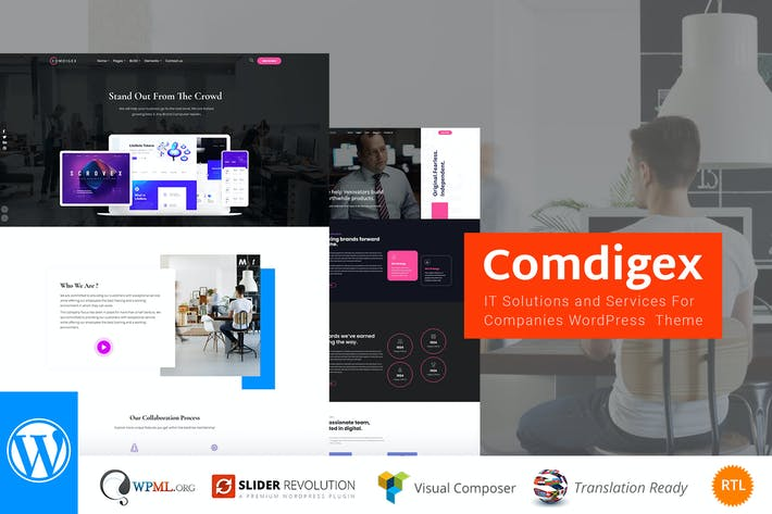 Thumbnail for Comdigex - IT Solutions and Services WP Theme