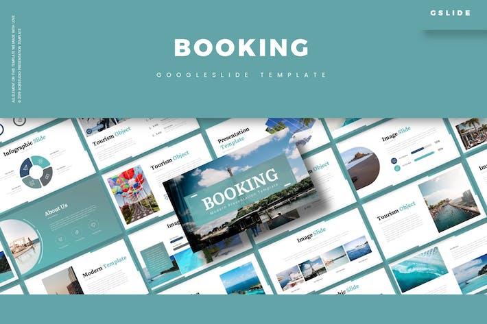 Thumbnail for Booking - Google Slide Template