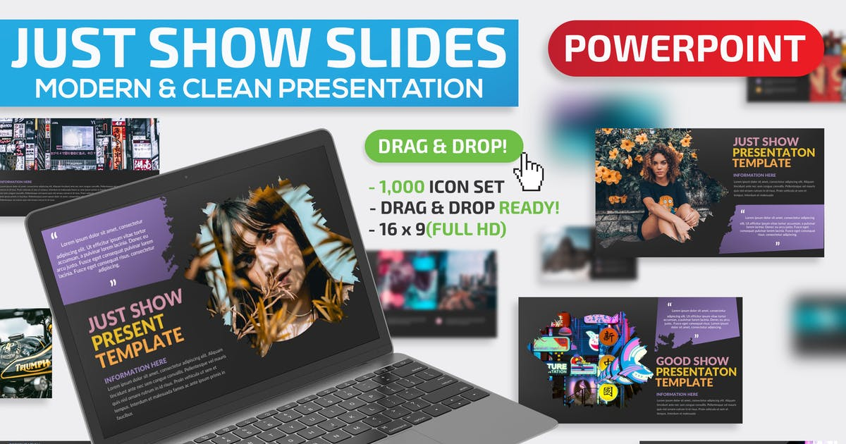 Download Just Show Powerpoint Presentation by mamanamsai