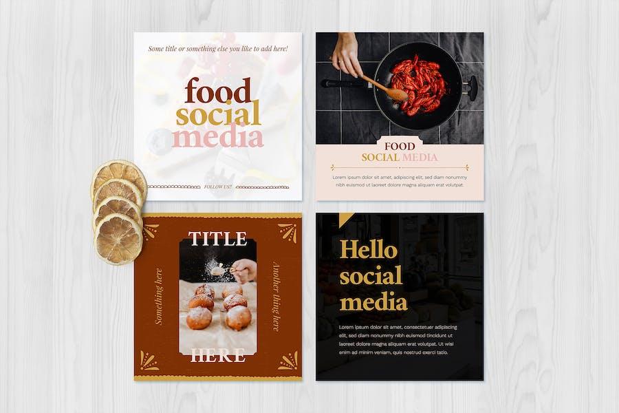 Food Social Media Templates 2