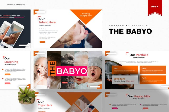 Thumbnail for The Babyo | Powerpoint Template