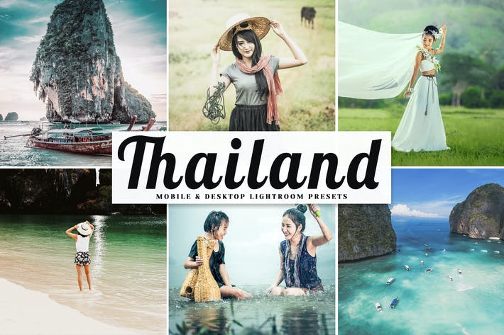 Thumbnail for Thailand Mobile & Desktop Lightroom Presets