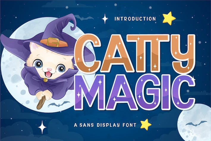 Thumbnail for Fuente de pantalla de Catty Magic