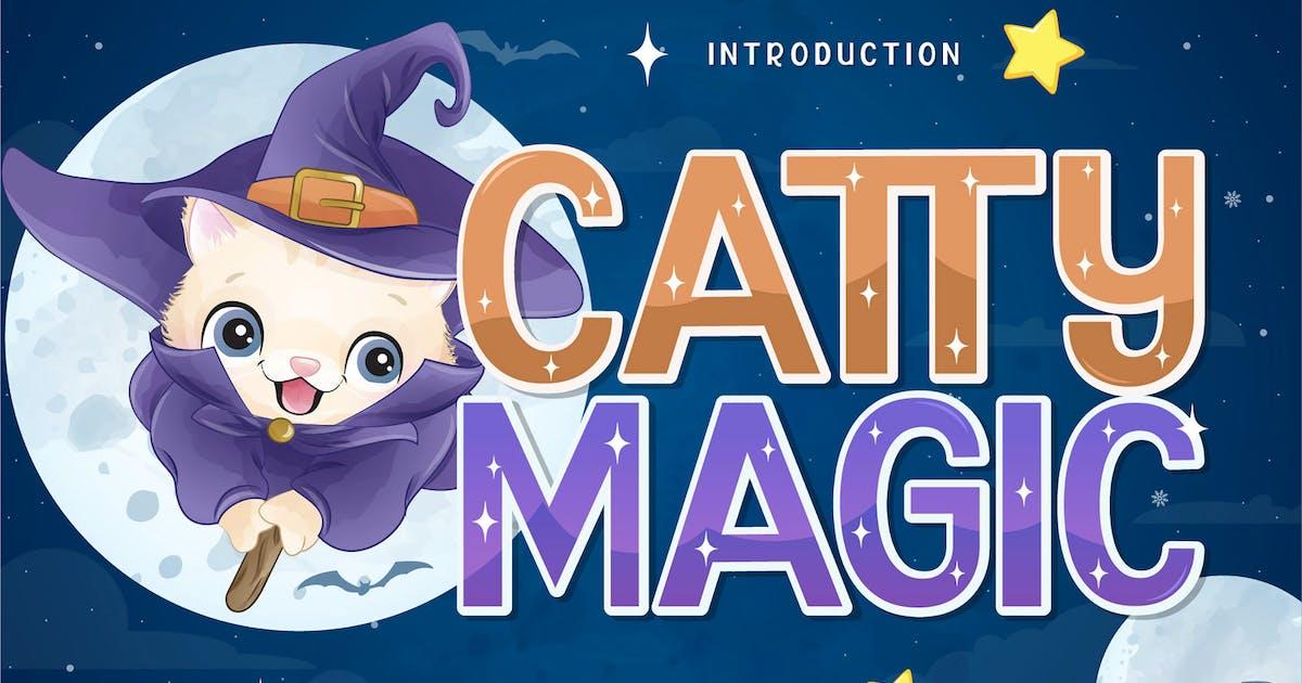 Download Catty Magic Display Font by axelartstudio