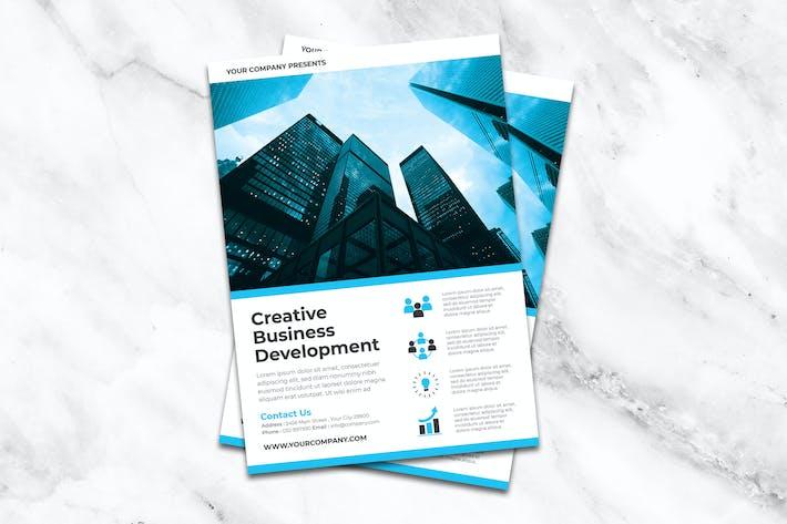 Thumbnail for Kreative Business Development Flyer