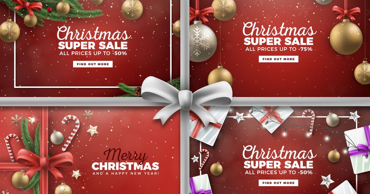 Download Merry Christmas Vector Backgrounds by andrewtimothy