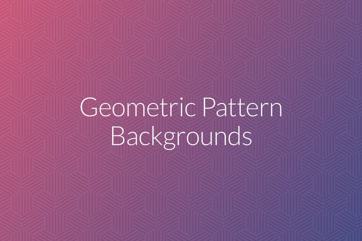 Thumbnail for Geometric Pattern Backgrounds