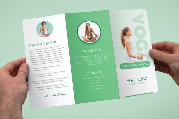 Thumbnail for Brochure – Yoga Tri-Fold