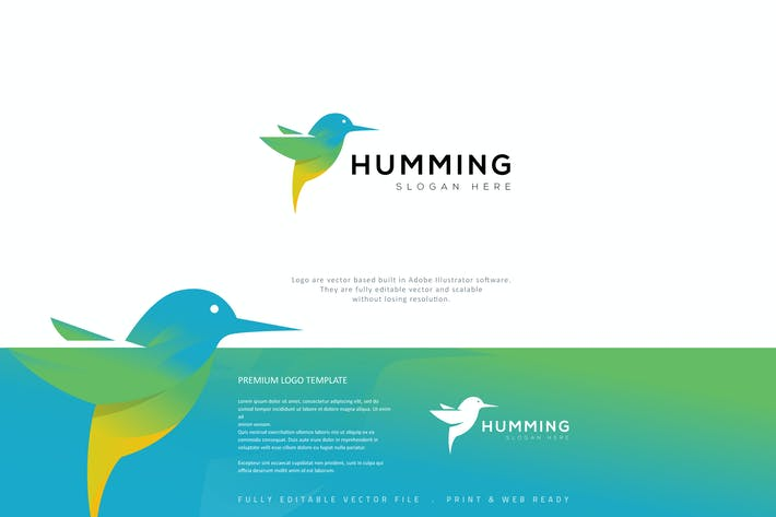Thumbnail for Humming Bird Logo