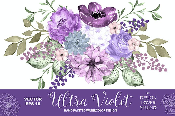 Thumbnail for Ultra violet design vector