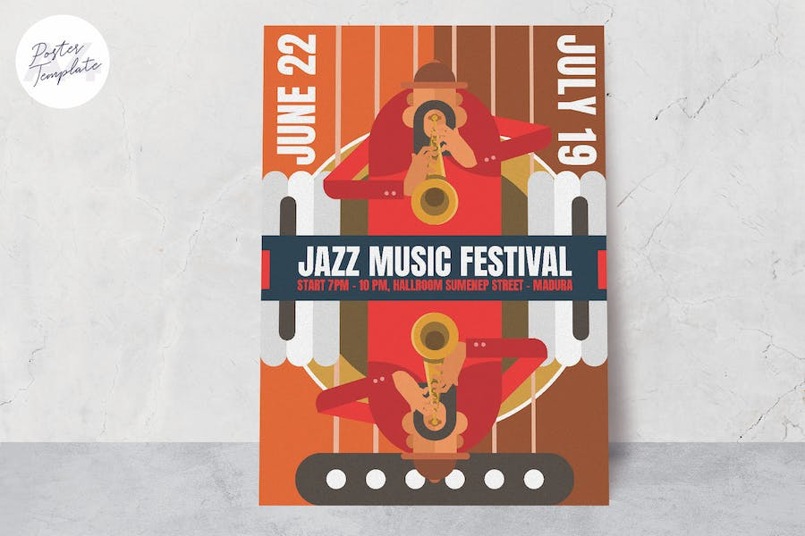 Jazz Music Poster - product preview 0