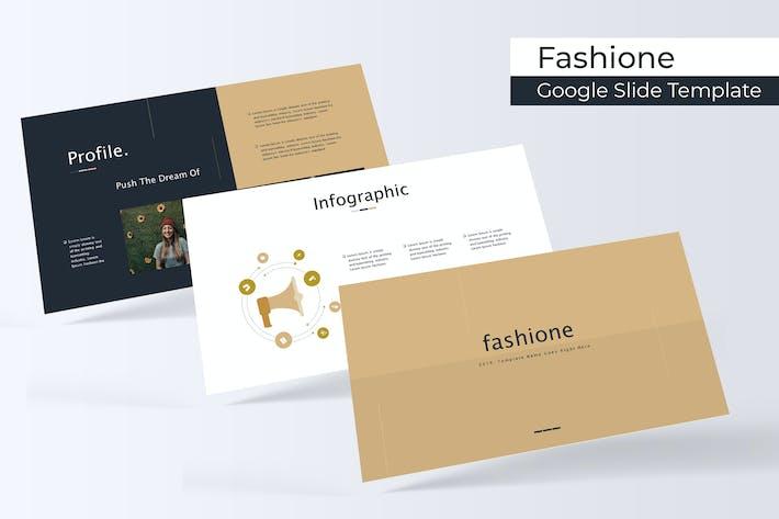 Thumbnail for Fashione - Google Slide Template