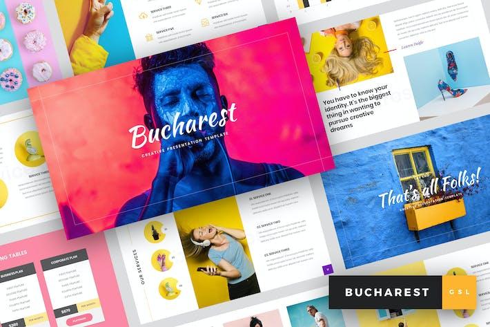 Bucharest - Creative Google Slides Template