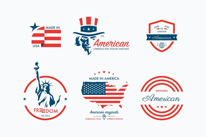 Thumbnail for American Badges