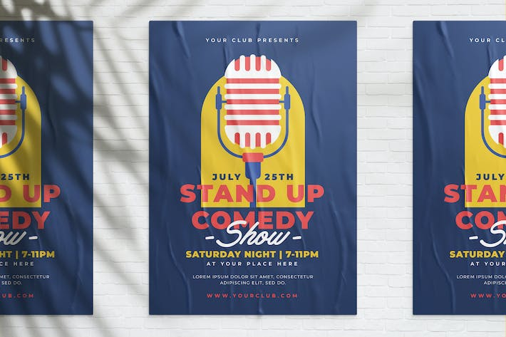 Thumbnail for Stand Up Comedy Show Poster