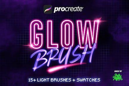 Procreate Glow Brushes
