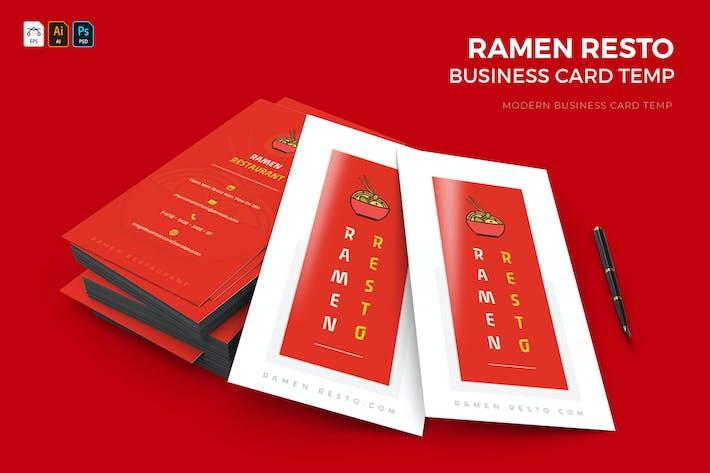 Thumbnail for Ramen Resto | Business Card