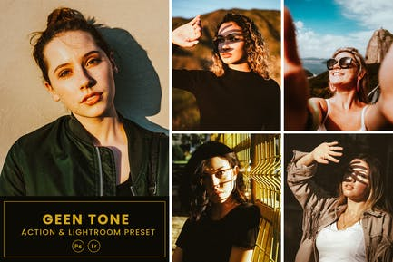 Sun Kissed Face Action & Lightrom Presets