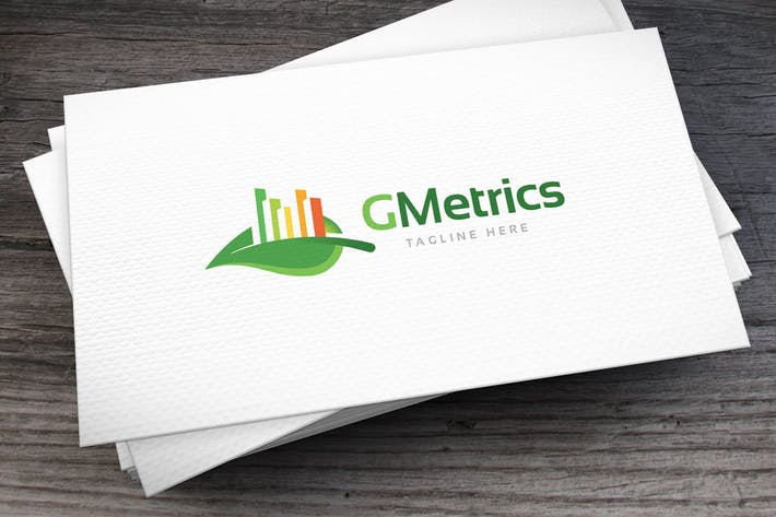 Green Metrics Logo Template