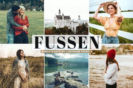 Fussen Mobile & Desktop Lightroom Presets