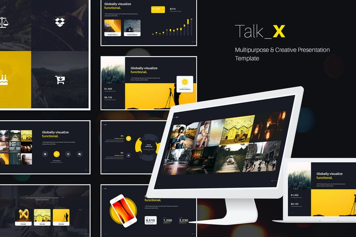 Cover Image For TalkX Multipurpose Template (Powerpoint)