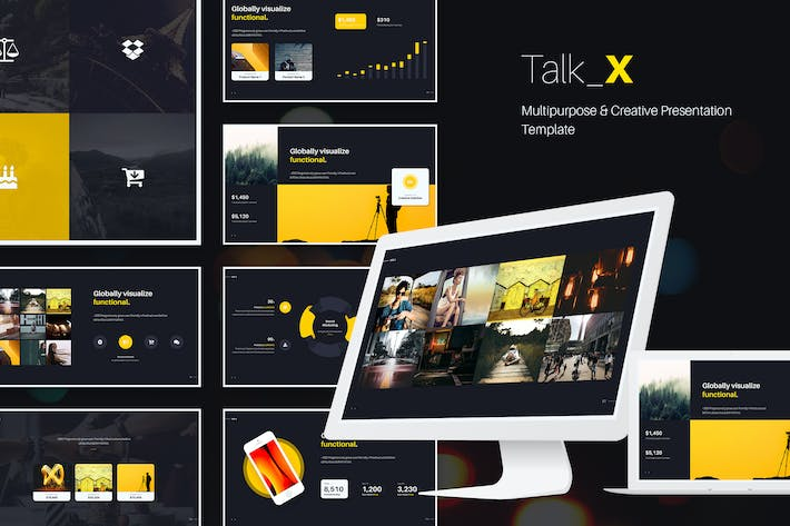 Thumbnail for TalkX Multipurpose Template (Powerpoint)