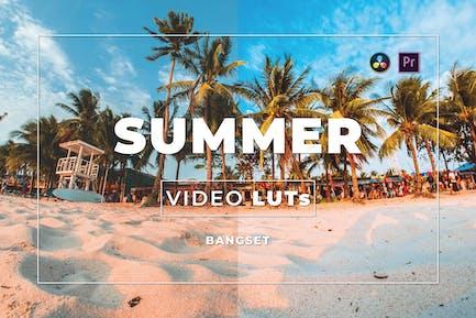 Летний бангсет видео LUTs