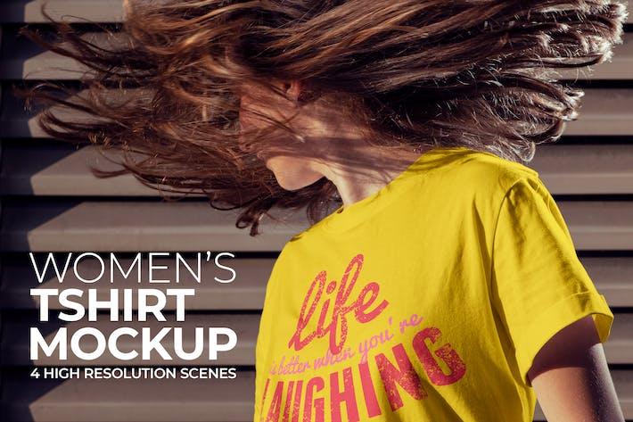 Thumbnail for T-shirt femme Mockup