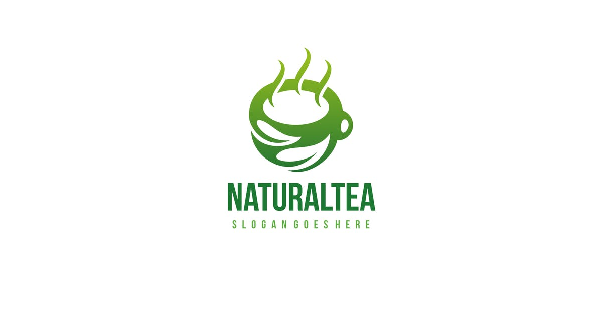 Download Natural Tea Logo by 3ab2ou