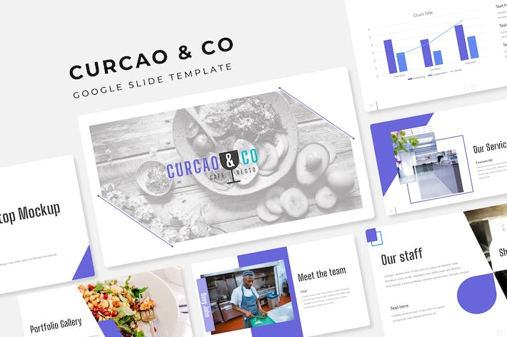 Cover Image For Curcao & Co - Google Slide Template
