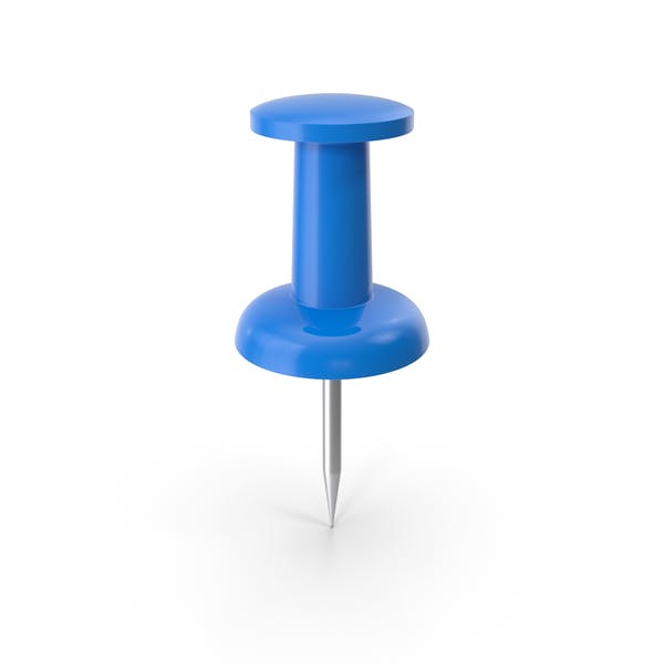 Push Pin Blue