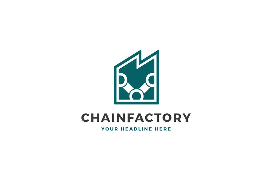 Chain Factory Logo Template