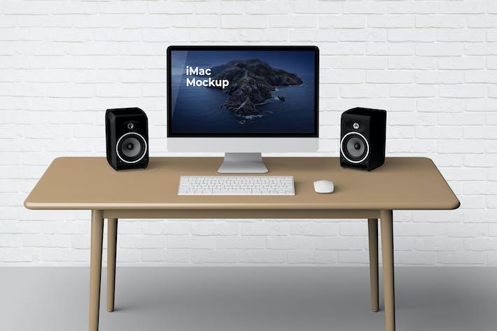 Thumbnail for iMac Mockup V2