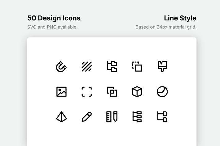 Thumbnail for Design Line Icons