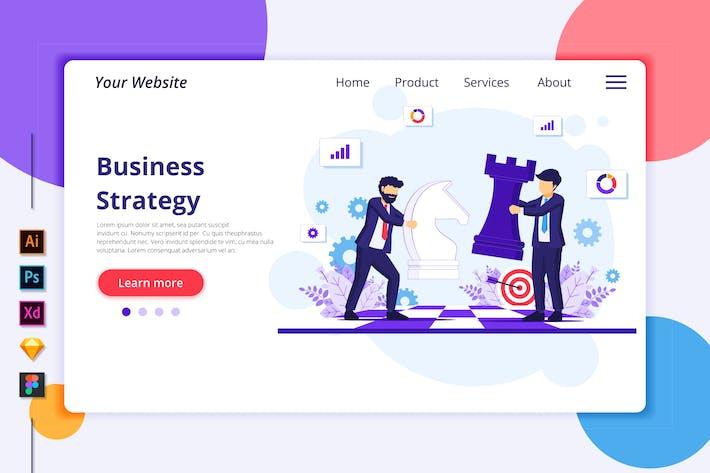 Thumbnail for Agnytemp - Business strategy Illustration v2