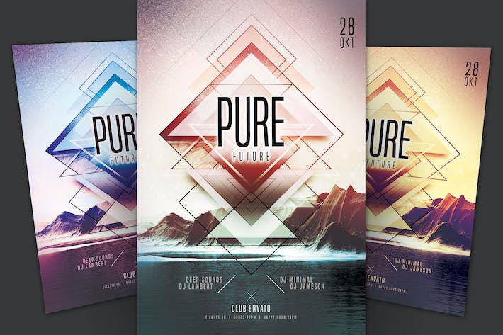 Thumbnail for Pure Future Flyer